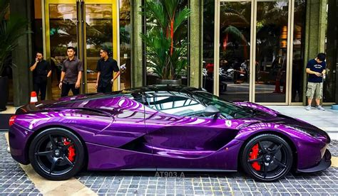 purple laferrari alexsmolik
