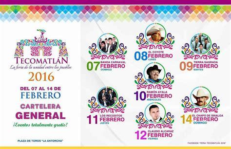 Calendario Xmatkuil 2017 Feria Tecomatl 225 N 2016 191 D 243 Nde Hay Feria