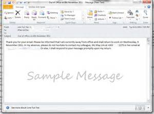 How to create vacation out of office message auto reply in webmail