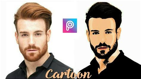 picsart tutorial create cartoon effect vector art