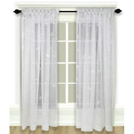ricardo curtains ricardo zurich embroidered rod pocket curtain panel