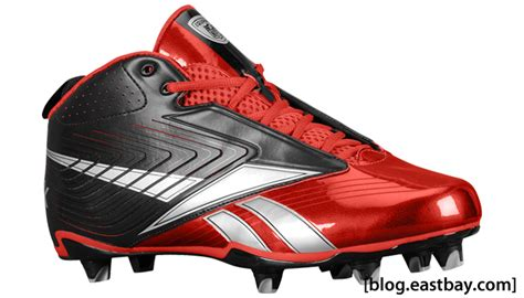 reebok shoes football reebok u form football cleats at eastbay eastbay
