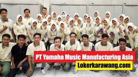 lowongan kerja pt yamaha  manufacturing asia ymma