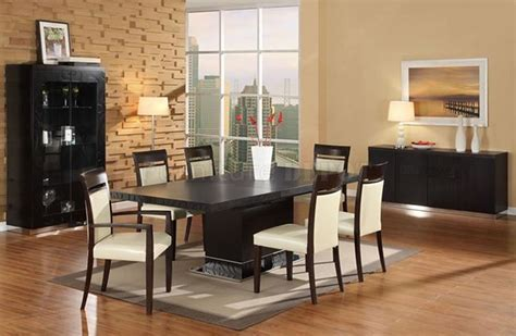 Contemporary Chairs For Dining Room Interesting Concept Of Contemporary Dining Room Sets Trellischicago