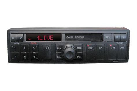 Radio Chorus Audi by Audi A4 B5 Radio Lautst 228 Rkeregelung