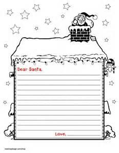 Pics photos free printable letter to santa