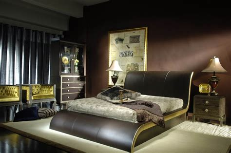 Leather Decorating Ideas by Bedroom Decorating Ideas With Leather Beds Room