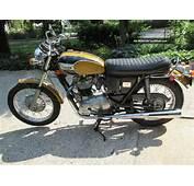 1971 Triumph Bonneville T120 Unrestored