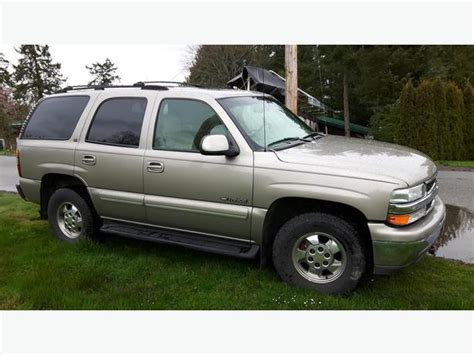 2001 chevy tahoe loaded leather 8 seater saanich
