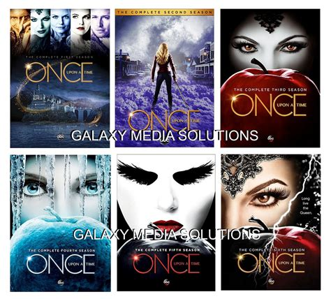 Dvd Once Upon A Time 2017 once upon a time season one six 1 6 dvd bundle 2012 2017