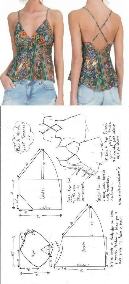 Baju Blus Blouse Dress Pesta Tank Top Halter Neck Korea Jepang Import 1 1955 best patrons gratuits free patterns images on