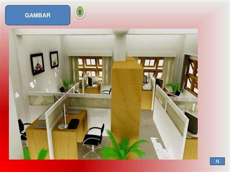 layout tataruang kantor ppt tata ruang kantor tertutup powerpoint presentation