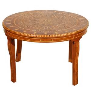 Moroccan Coffee Tables Moroccan Coffee Table Inlaid Marquetry At 1stdibs
