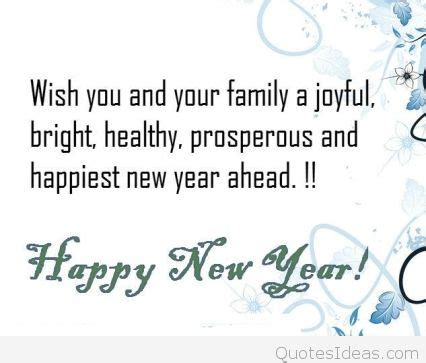 latest happy new year wishes