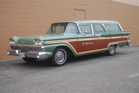 green ford station wagon automotive restorations inc