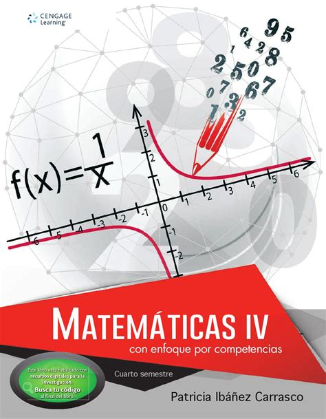 libro mt 1 matematicas bachillerato matem 225 ticas iv con enfoque por competencias 1a ed patricia ib 225 241 ez by cengage learning editores