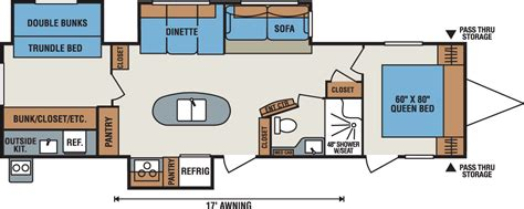spree rv floor plans spree rv floor plans 2017 kz rv spree 329ik caravanes de