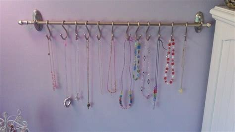 Command Hooks For Curtains 3m Hooks Small Curtain Rod And Shower Curtain Hooks Necklace Storage And Display