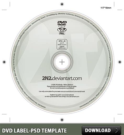 dvd label free psd template free psd in photoshop psd