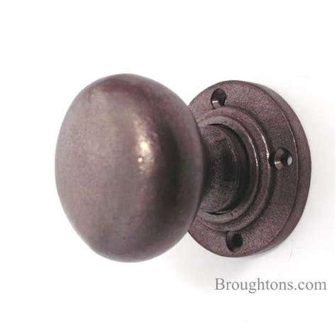 bun door knobs solid rustic bronze broughtons of