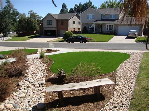 denver and colorado springs colorado artificial turf sod xeriscape landscaping ideas from