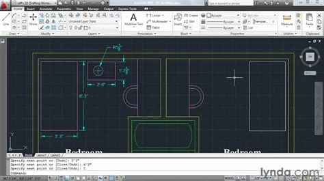 autocad tutorial units autocad using architectural units lynda com tutorial
