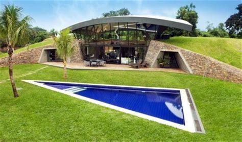 modern underground hillside houses  luque paraguay