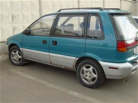how to fix cars 1992 mitsubishi rvr auto manual 1992 mitsubishi rvr pics 2 0 gasoline automatic for sale