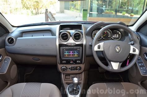 renault duster 2016 interior 2016 renault duster automatic review