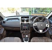 2016 Renault Duster Facelift AMT Dashboard Review  Indian