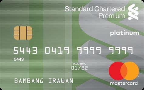 kartu kredit standard chartered bank premium  saver