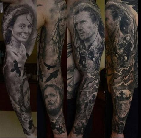 braveheart tattoo designs artist den yakovlev of the braveheart