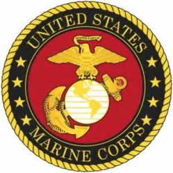 Command Wall Stickers u s marine corps logo decal medals of america