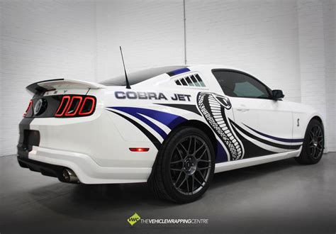 Shelby Cobra Jet by Ford Shelby Mustang Cobra Jet Personal Vehicle Wrap Project