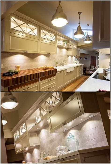 Darren Brown Interior Design by Cabinet Lighting For A Magical Touch In Your Kitchen