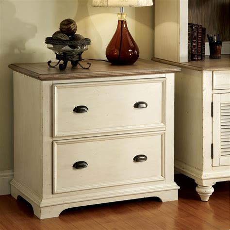Riverside Cabinets by Riverside Coventry Two Tone Lateral File Cabinet File
