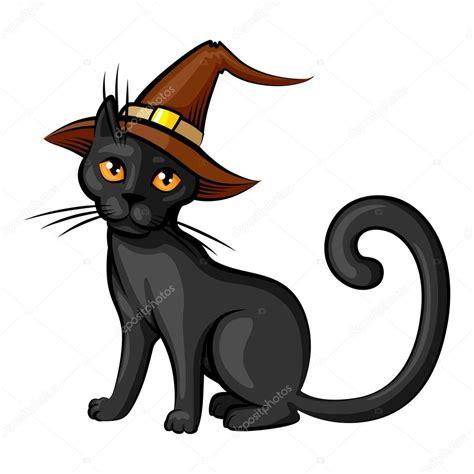 dibujos halloween a color imagui dibujos animados gato en color de contorno de sombrero