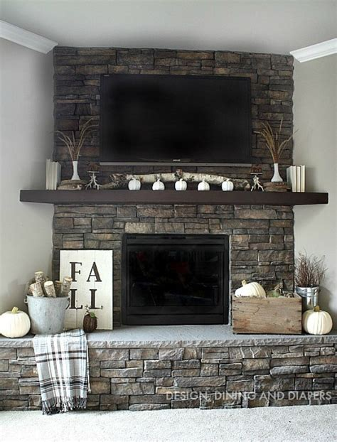 do it yourself home decor diy fall mantel decor ideas to inspire landeelu
