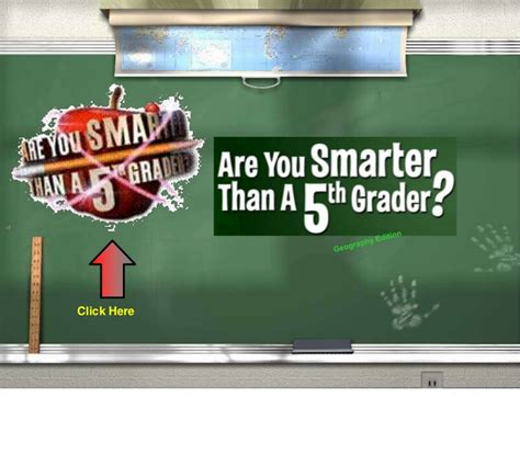 Are You Smarter Than A Fifth Grader Geography Edition Are You Smarter Than A 5th Grader Powerpoint Template