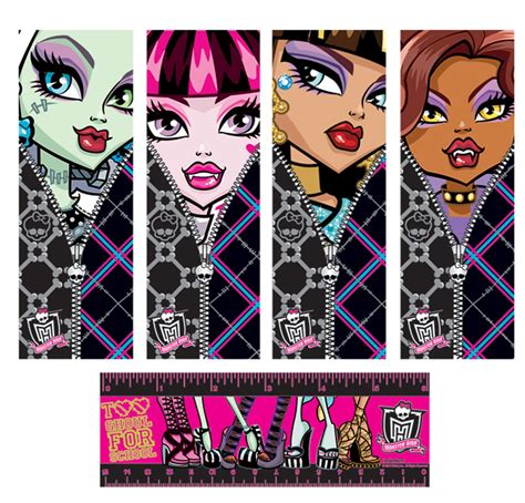 printable monster bookmarks monster high bookmarks birthdayexpress com