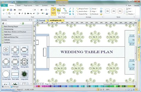 pdf diy table plans templates for weddings download table
