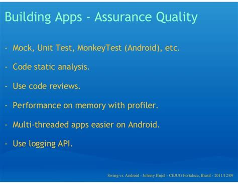 java on android java swing vs android app