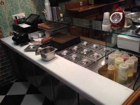 comptoir snack agencement restaurant bar brasserie