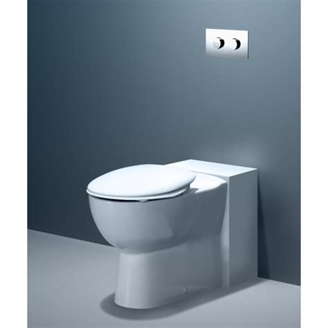 leda care wall faced invisi series ii toilet suite