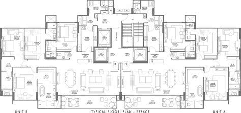 floor plan elements 6 bedroom grand residential suits at rustomjee elements