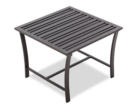 Outdoor Patio Side Table Strathwood Side Table Patio Side Tables Garden Outdoor