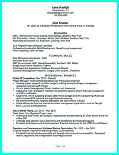 1000 images about resume sle template and format on resume exles resume