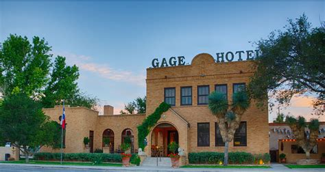 National Bar And Dining Rooms Gage Hotel Resort And Spa Visit Big Bend Guides For
