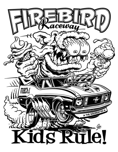 hot rod cars coloring pages rat rod coloring pages coloring home