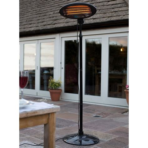 La Hacienda Patio Heater La Hacienda Adjustable Standing Patio Heater 2000w On Sale